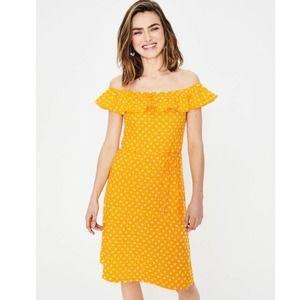 BODEN bethany jersey dress in happy spot star 12